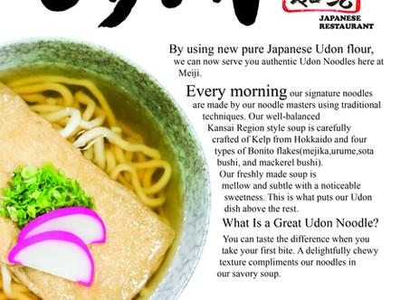 Handmade Noodle at Meiji Restaurant