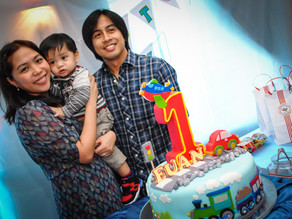 { Euan's 1st Birthday } Kiddie Party Photo and Video Coverage at Betty's Sansrival