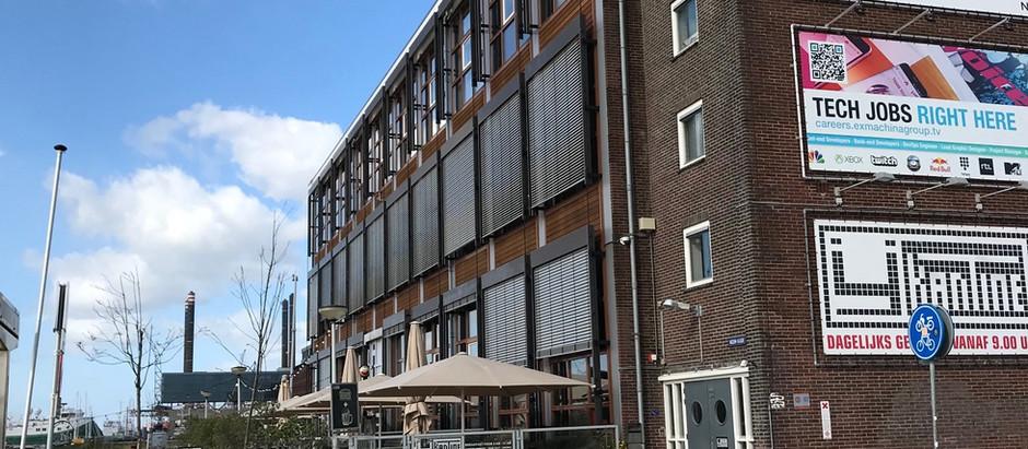 Spannend nieuw project; kantoorruimtes creëren voor Ex Machina group.