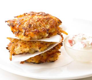 Crab Potato Pancakes