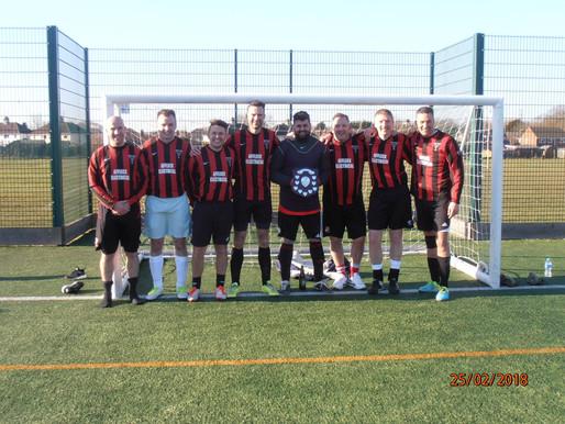 Five-a-Side Tournament Raises £700