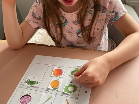 Mila (1TM) the scientist finds out which part of a plant we eat!
