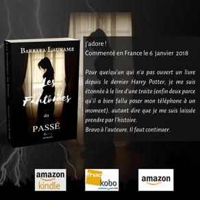 Le début d'une aventure, le premier avis de lecteur laissé sur amazon pour Les Fantômes du Passé !