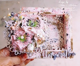 Blooming Flowers Shadow Box