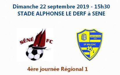 Séné FC - SP Milizac : 0 - 0