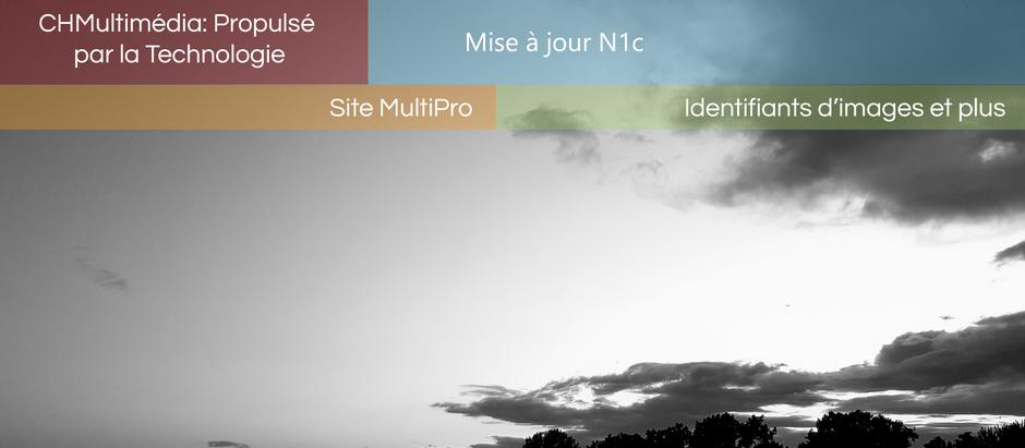 Site Web: Mise à jour N1c