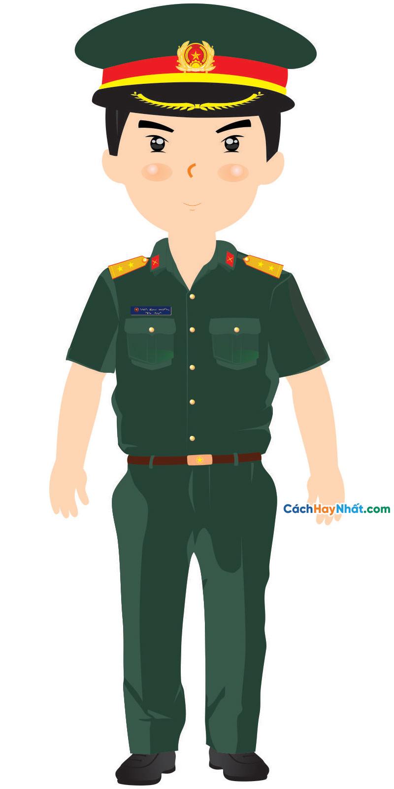 File Mockup Chibi Quân Đội, Công An, Cứu Hỏa COVID-19 Vector Corel