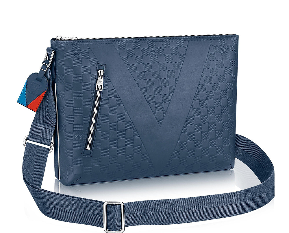 Louis Vuitton Mick MM Damier Infini Leather (Salhiya luxury center)
