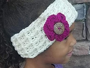 How to Crochet the Winter Charm Ear Warmer