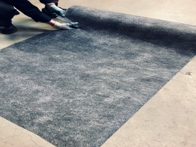 STICKY WALK-ON MATS STOP WATER BUILD UP
