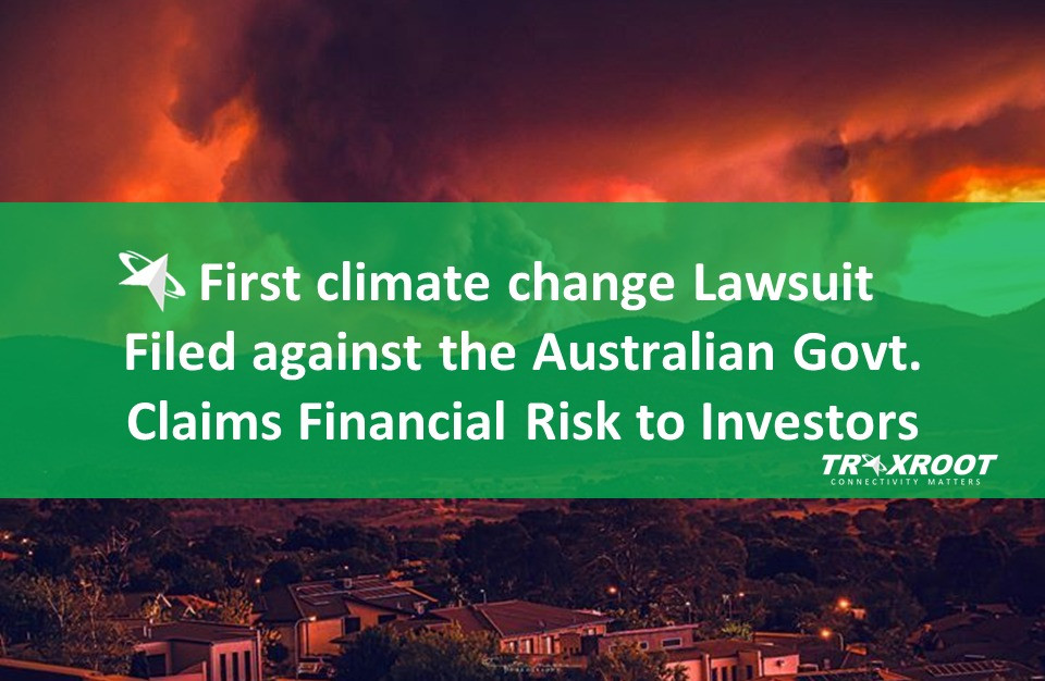 First climate change Lawsuit Filed against the Australian Govt.