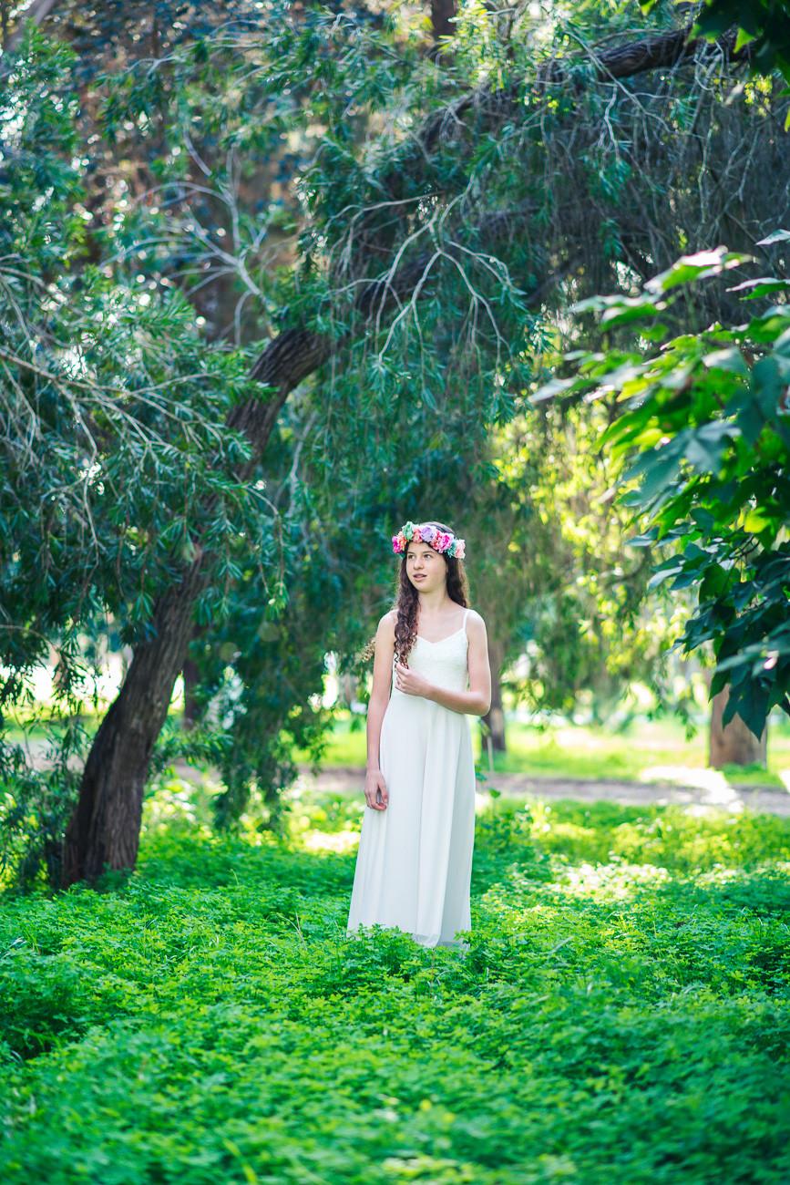 בוק בת מצווה בטבע   עמק חפר