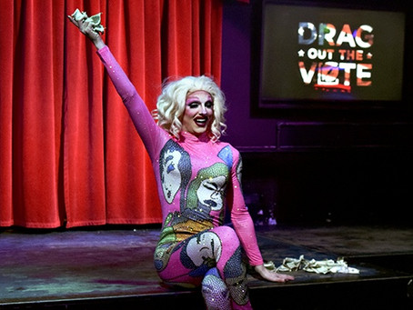 'The time is now': Drag queens perform to Drag Out The Vote for 2020 primary elections
