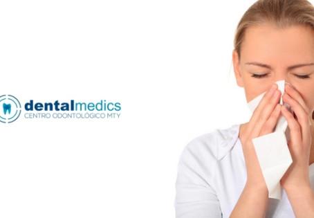 El resfriado también afecta a tu salud bucodental