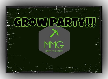 """MMG Instagram """"Grow Party"""""""