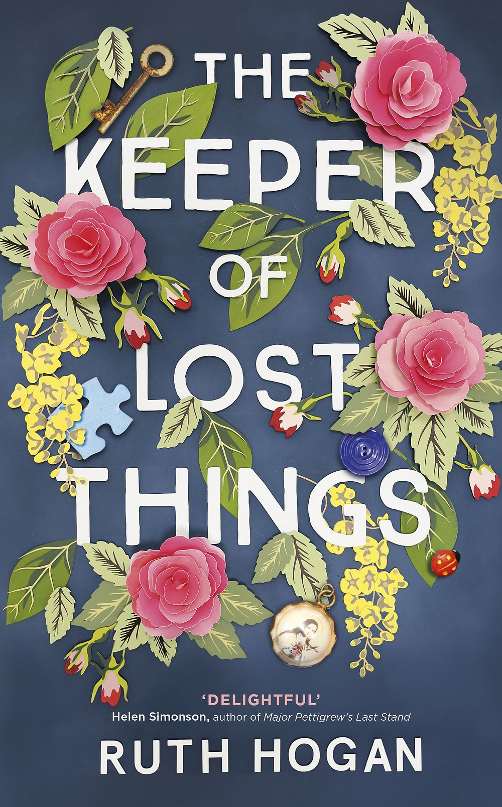 The Keeper of Lost Things by Ruth Hogan : the book slut book reviews thebookslut best floral book covers valentines day books