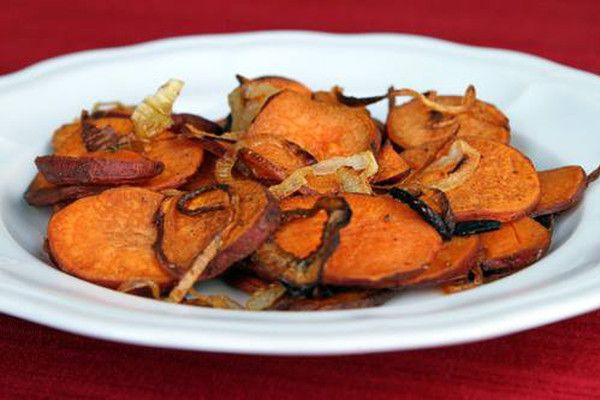 Recept na zdravé chipsy z batátů