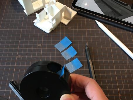 tools file #8,タブも作れるテープカッター 小