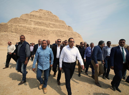 Открыта пирамида Джосера