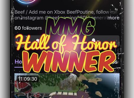 "Congratulations ""beefgaming360""!!!"