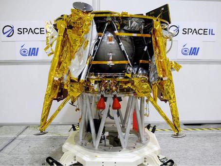 Primera sonda israelí acabó su aventura al estrellarse en la Luna