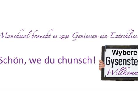 Jahresprogramm der Wyberei