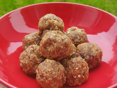 Vegan Iron rich Energy Balls