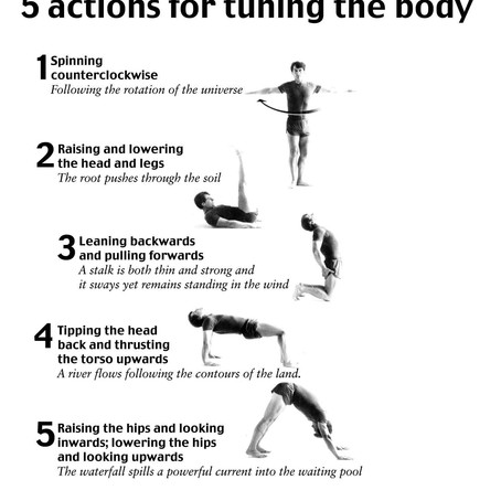 5 Actions for Tuning The Body ~ in 10-15 minutes!