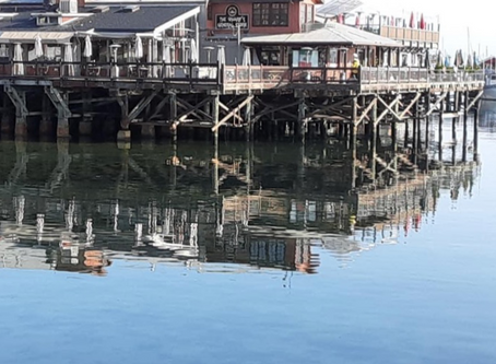 Reflecting on Calm Bay Waters