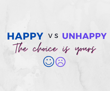 Your Happy Self versus Your Unhappy Self