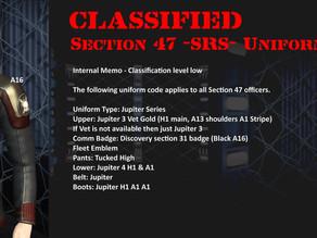 Scoop, Section 47 uniform
