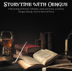 """""""Storytime With Oengus""""  Album Now Available!"""