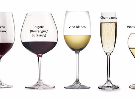 ¿Que copas de vino elegir?