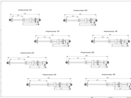 Новая линейка амортизаторов и койловеров с диаметром корпуса 65 мм.