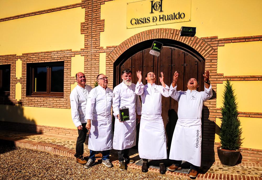 Chef's Goutatoo bei Casas de Hualdo in Kastilien-La Mancha - evoo ag