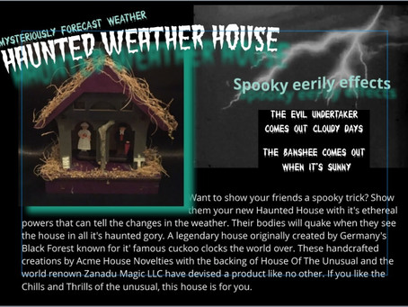 Last Chance to get RARE Weather Haunted House LIMITED 200!