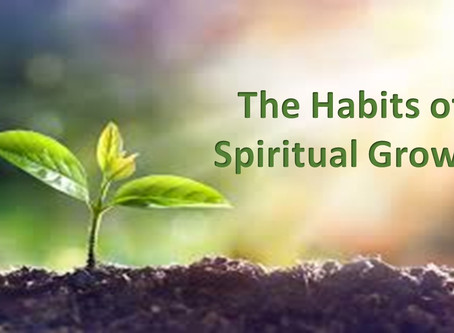 The Habits of Spiritual Growth