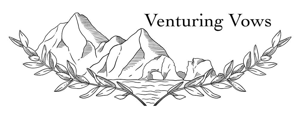Venturing Vows Logo