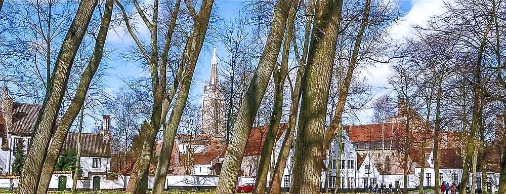 Beguinaje de Brujas (Bélgica)