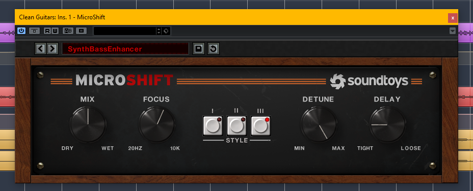 soundtoys microshift stereo enhancer plugin