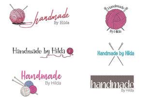 Handmade By Hilda Logo Design