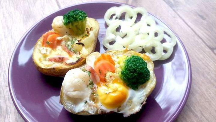 Zdravá večeře z brambor