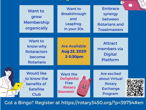 Rotary x Toastmasters first event