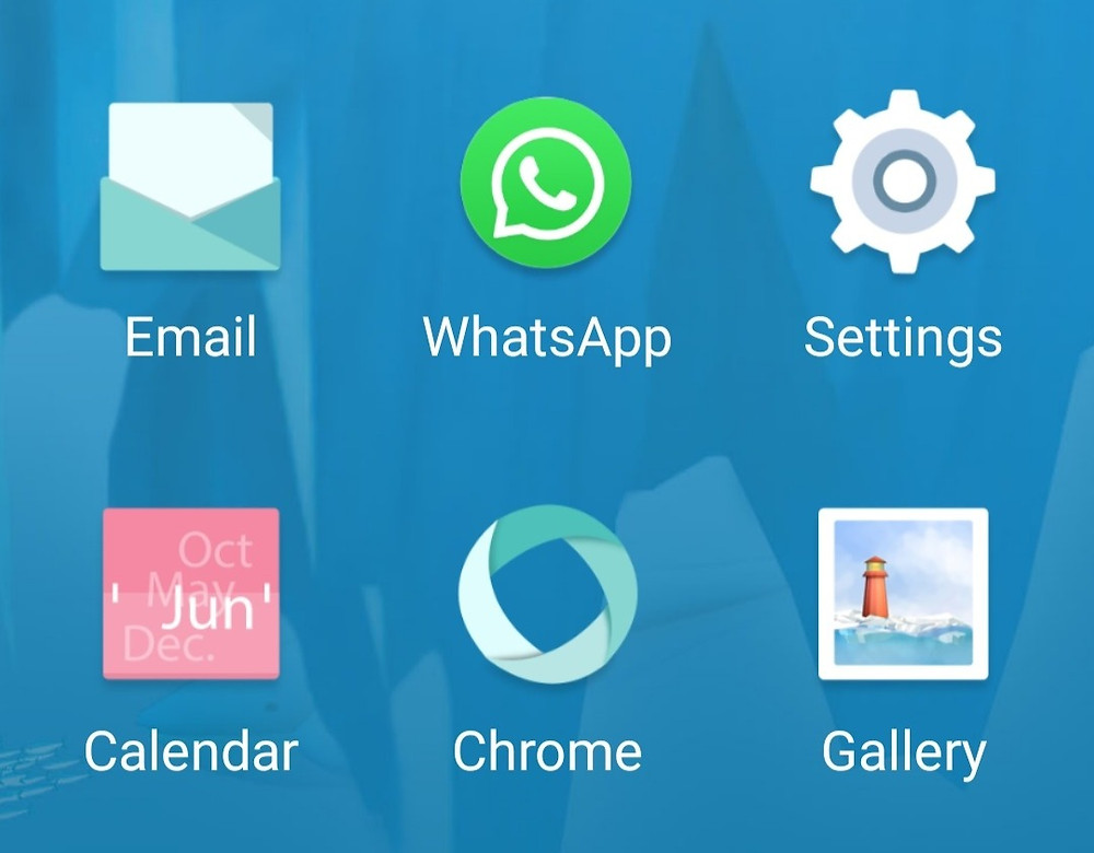 whatsapp on android simple mode home screen