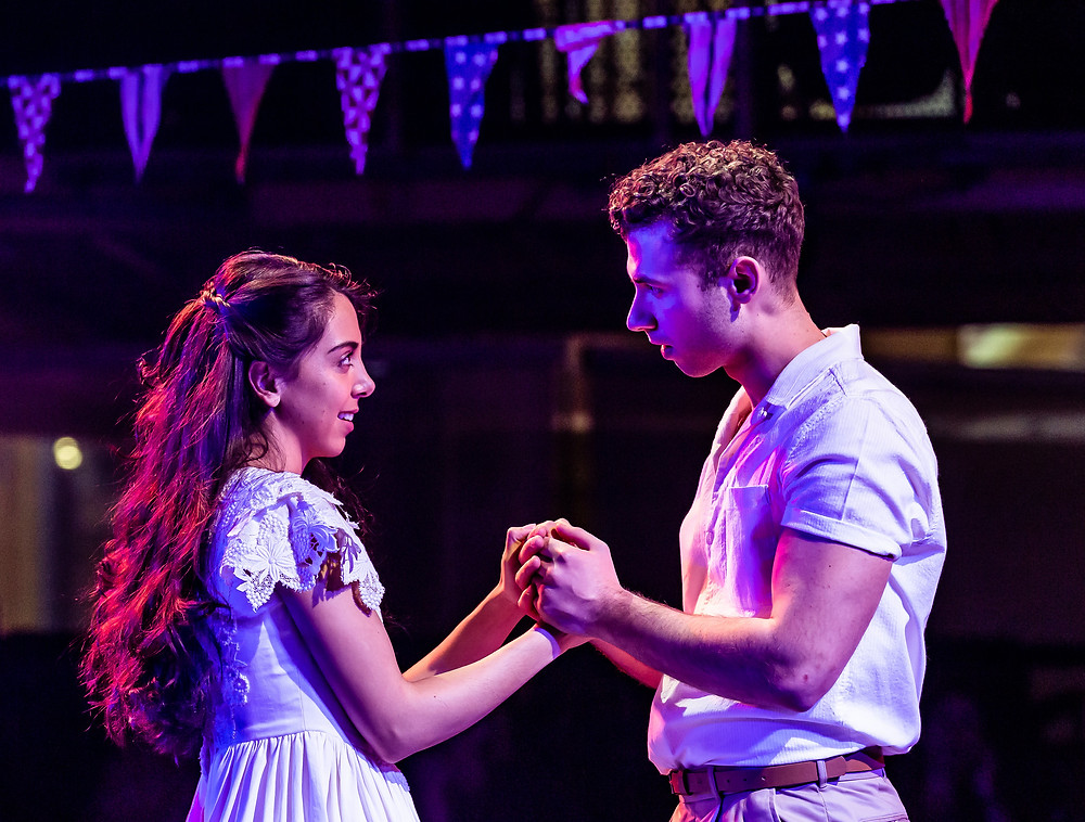 Gabriela Garcia as Maria and Andy Coxon as Tony in West Side Story at Manchester's Royal Exchange Theatre. All pics: Richard Davenport of The Other Richard