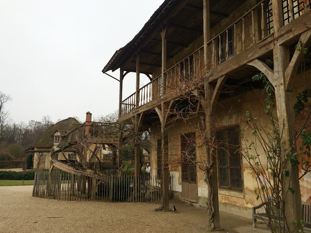 Queen's Hamlet in the grounds of Versailles in France