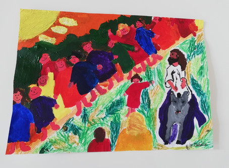 RE Art work by Isabelle in 4P.