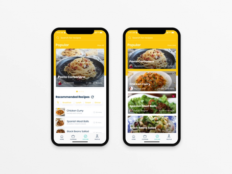 Mobile app idea #56: Dinner Ideas