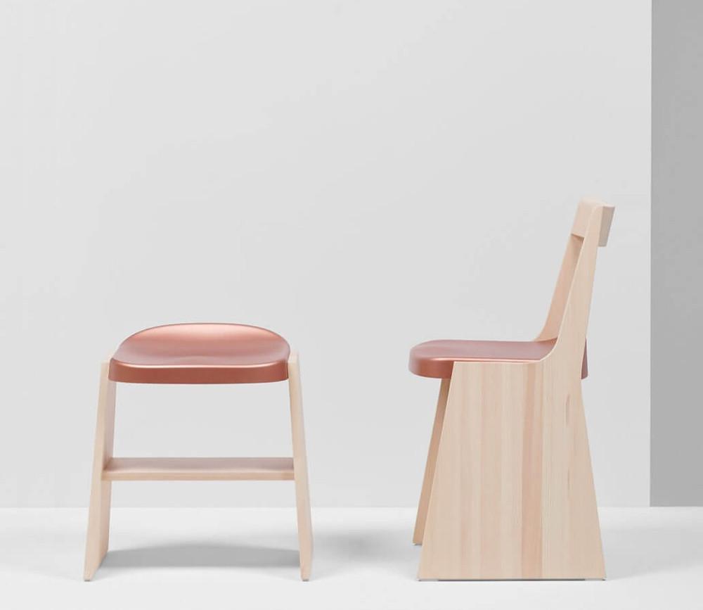 Sustainable Design - Furniture - Mattiazzi MC 19 — FRONDA CHAIRS BY SAM HECHT & KIM COLIN