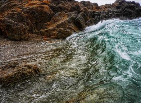 Asilomar Surf at Shore